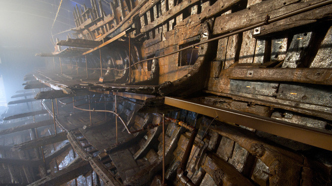a bordo della mary rose